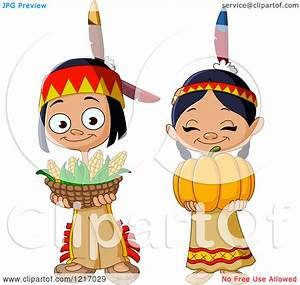 Cute Indian Thanksgiving Clipart