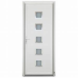 Porte D39entre PVC Sigma Pasquet Menuiseries