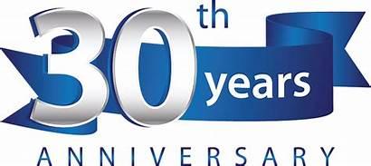 Anniversary 30th Travel Right Ribbon Bare Celebrates