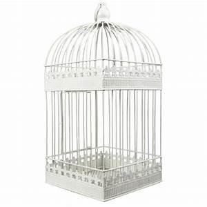 Shabby Chic Accessoires : accessoire mariage urne cage shabby chic ~ Markanthonyermac.com Haus und Dekorationen