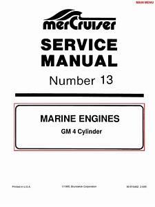 Serv Manual Mercruiser 165 Hp
