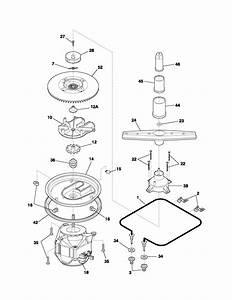 Motor  U0026 Pump Diagram  U0026 Parts List For Model Fdr252rbb1