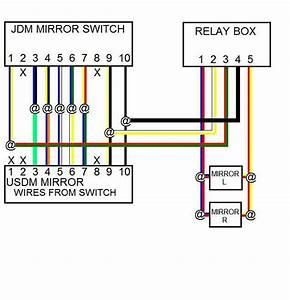 Jdm Spiegel  Elektrisch Einklappbar  F U00fcr Prelude