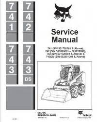 Bobcat 741 Wiring Diagram by Bobcat 741 742 743 743ds Skid Steer Loader Service Manual