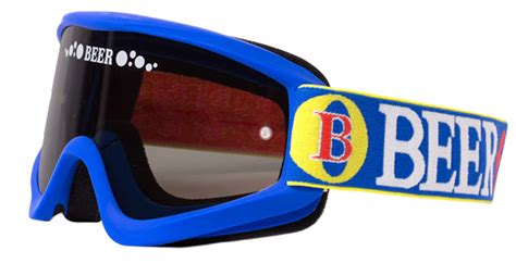 beer motocross goggles beer optics 067 06811 frosty dry beer goggles mx off