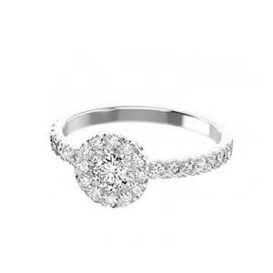 bague de mariage bague fiancaille or blanc diamant