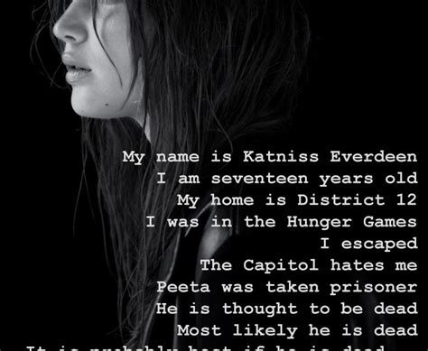 what is katniss named after mrs c collect your thoughts 11 character sketch mockingjay