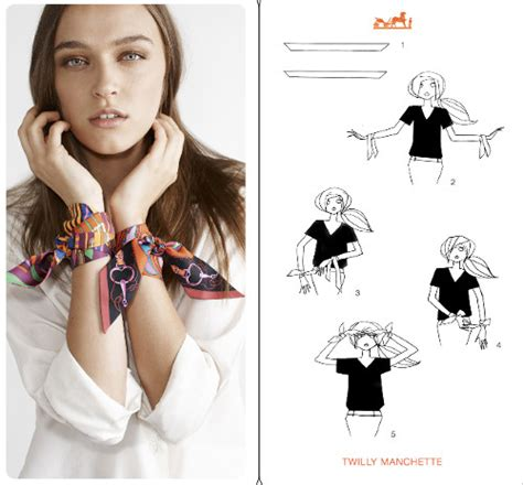 stunning ways  wear  hermes scarf  instructions