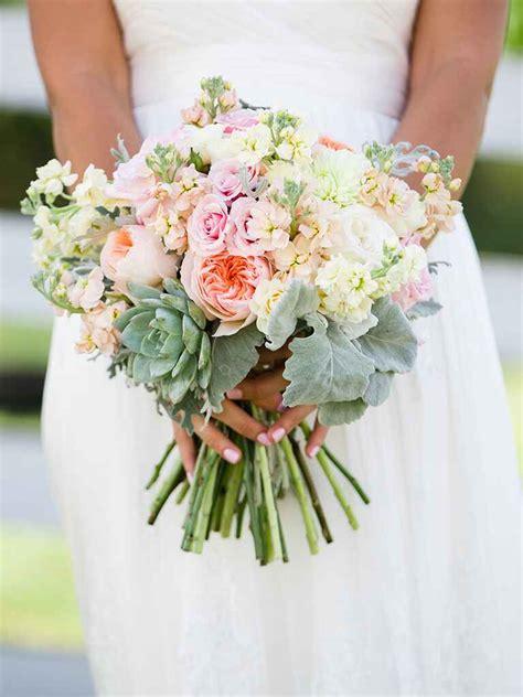 natural succulent wedding bouquets