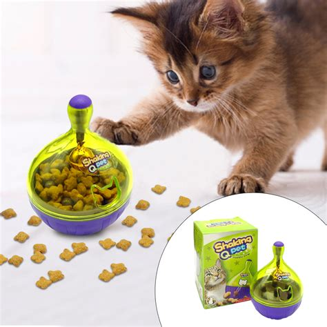 cat food dispenser for cats cat iq treat smarter pet toys food