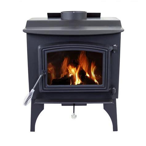 pleasant hearth small wood burning stove  legs ws