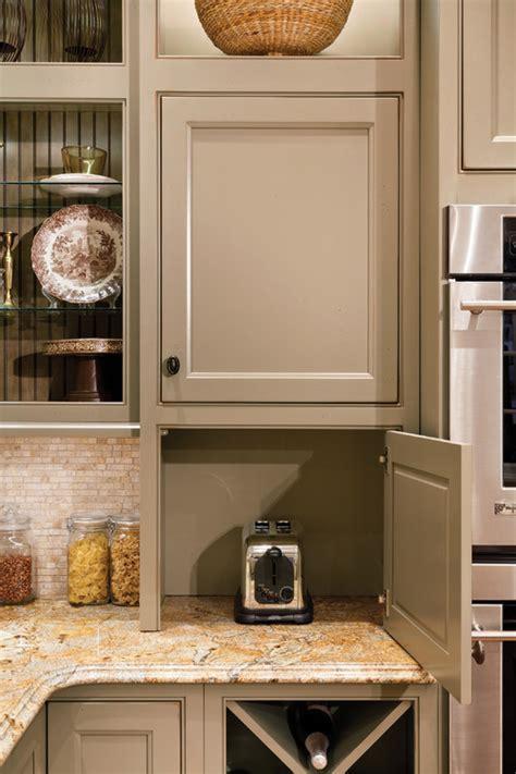 creative ways  hide  small kitchen appliances