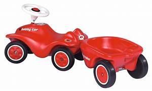 Bobby Car Mit Anhänger : big 56280 new bobby car anh nger rot spielzeug ~ Watch28wear.com Haus und Dekorationen