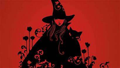Witch Cat Desktop Background Backgrounds Witchy Wallpapers