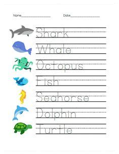 handwriting worksheets  kids images