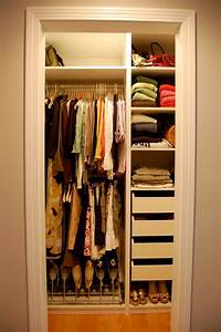 nice easy closet design Humble Closet Design in Personal Style : Stunning Small ...