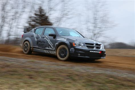 Dodge Car : 2011 Dodge Avenger Rally Car By Mopar