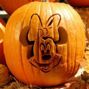Minnie Mouse Pumpkin Carving Stencil Free by Cool Disney Inspired Pumpkin Carving Ideas