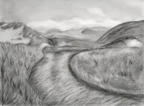 Landscape Pencil Sketches Drawings