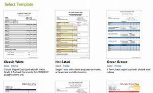 customizing your report cards school management With montessori report card template