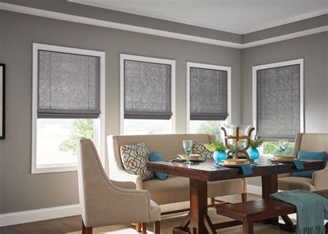 Blinds For Dining Room by Woven Wood Shades Warm Rich Style See Options
