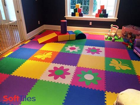 basement tile flooring ideas foam tiles for colorful foam mats softtiles
