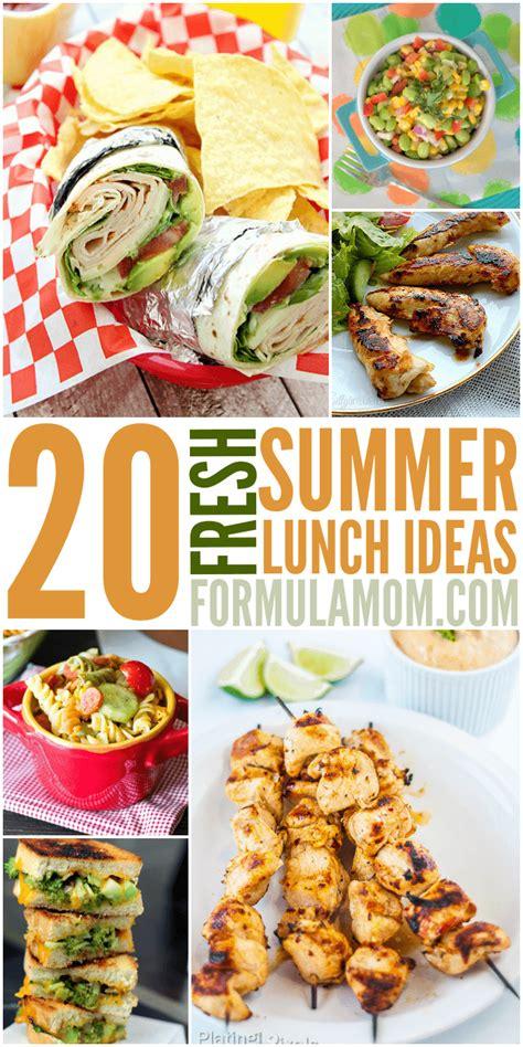 20 Fresh Summer Lunch Ideas