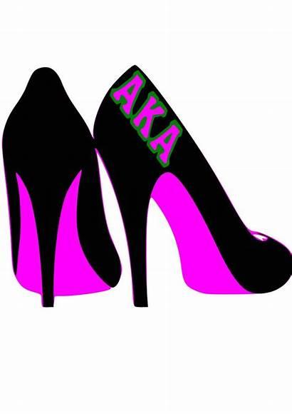 Aka Sorority Alpha Kappa Svg Clipart Shoes