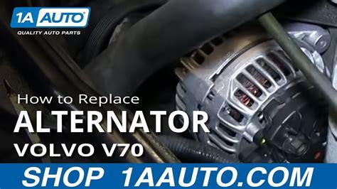 install replace alternator   volvo