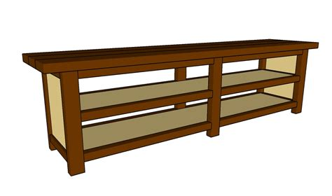 how to a console table sofa table plans howtospecialist how to build by