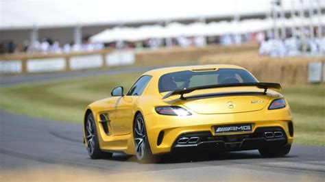 Great savings & free delivery / collection on many items. Mercedes A45 AMG & SLS AMG Black Series arrive at Goodwood