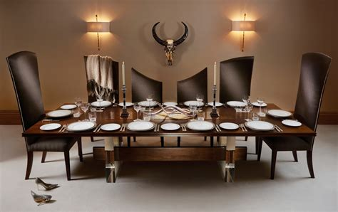 curve  seater dining table  chairs
