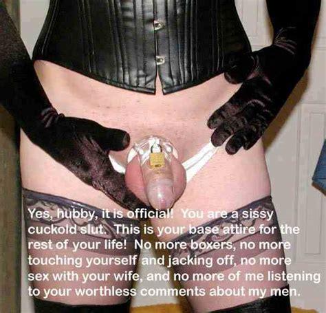 Dom Wife Sissy Husband Captions
