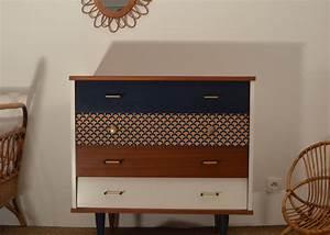 vente de meubles vintage restaures mobilier annees 50 With meubles des annees 50