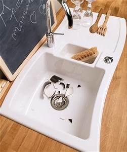 Evier Cuisine Ceramique Blanc : cuisine darty 25 photos ~ Premium-room.com Idées de Décoration