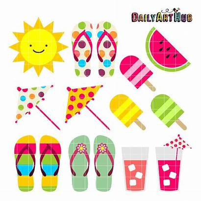 Clip Clipart Daily Cliparts Accesories Hub Sets