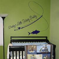 trending fish wall decals Daddy's Little Fishing Buddy - Quotes - Wall Decals