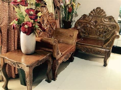 narra cleopatra sala set sala set wood furniture furniture