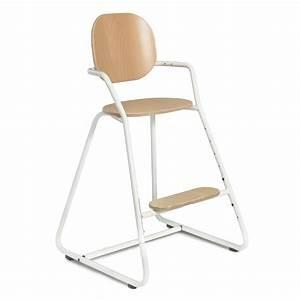Chaise Haute Bébé Design : chaise haute volutive b b tibu blanche charlie crane ~ Teatrodelosmanantiales.com Idées de Décoration