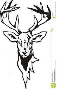 Deer Tribal Skull Designs