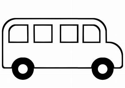 Bus Transportation Autobus Coloring Autocad Transport Maternelle