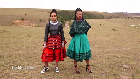 ancient beadwork brightens modern xhosa clothing cnn video