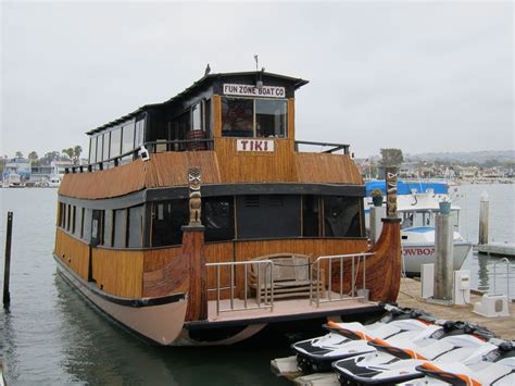 Balboa Boat Cruise by Tiki Boat Balboa Island Newport Ca