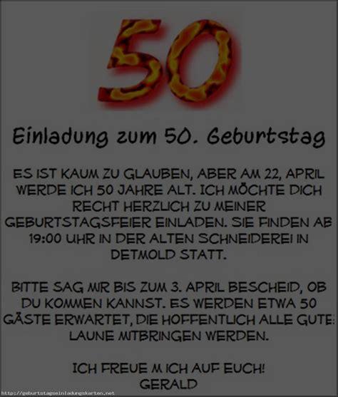 50 geburtstag einladung einladungen geburtstag