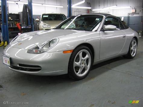 silver porsche carrera arctic silver metallic 1999 porsche 911 carrera cabriolet