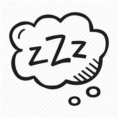 Zzz Sleep Sleeping Bubble Icon Think Icons