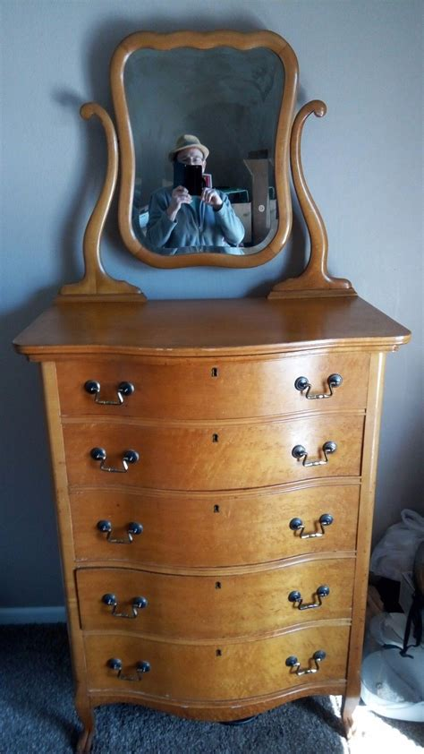 antique birdseye maple dresser with mirror antique birdseye honey maple dresser with decorative