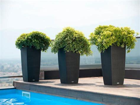 id 233 e jardin moderne d 233 coration avec pot de fleur design