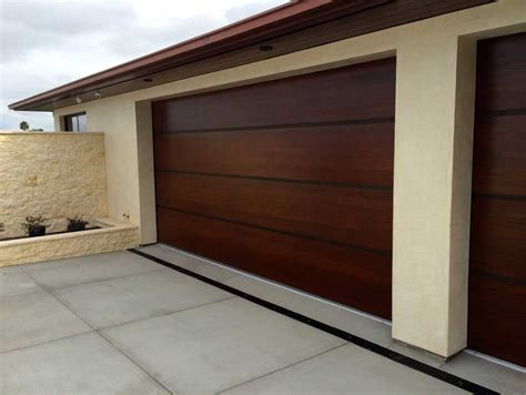 Designer Garage Doors With Modern Design  Home Interior