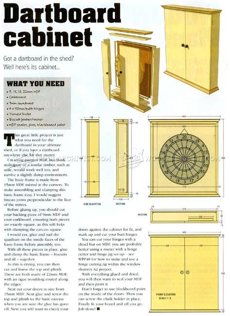 dartboard cabinet plans  woodworking plans